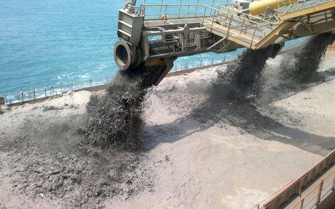 San lấp bằng máy hút cát